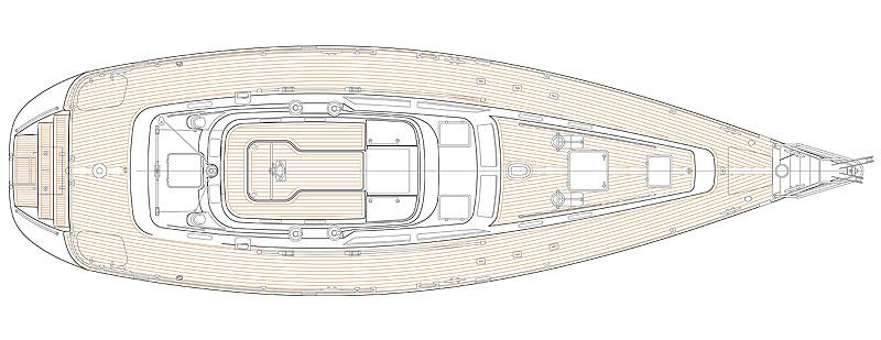 Hylas Yachts H46 Deck