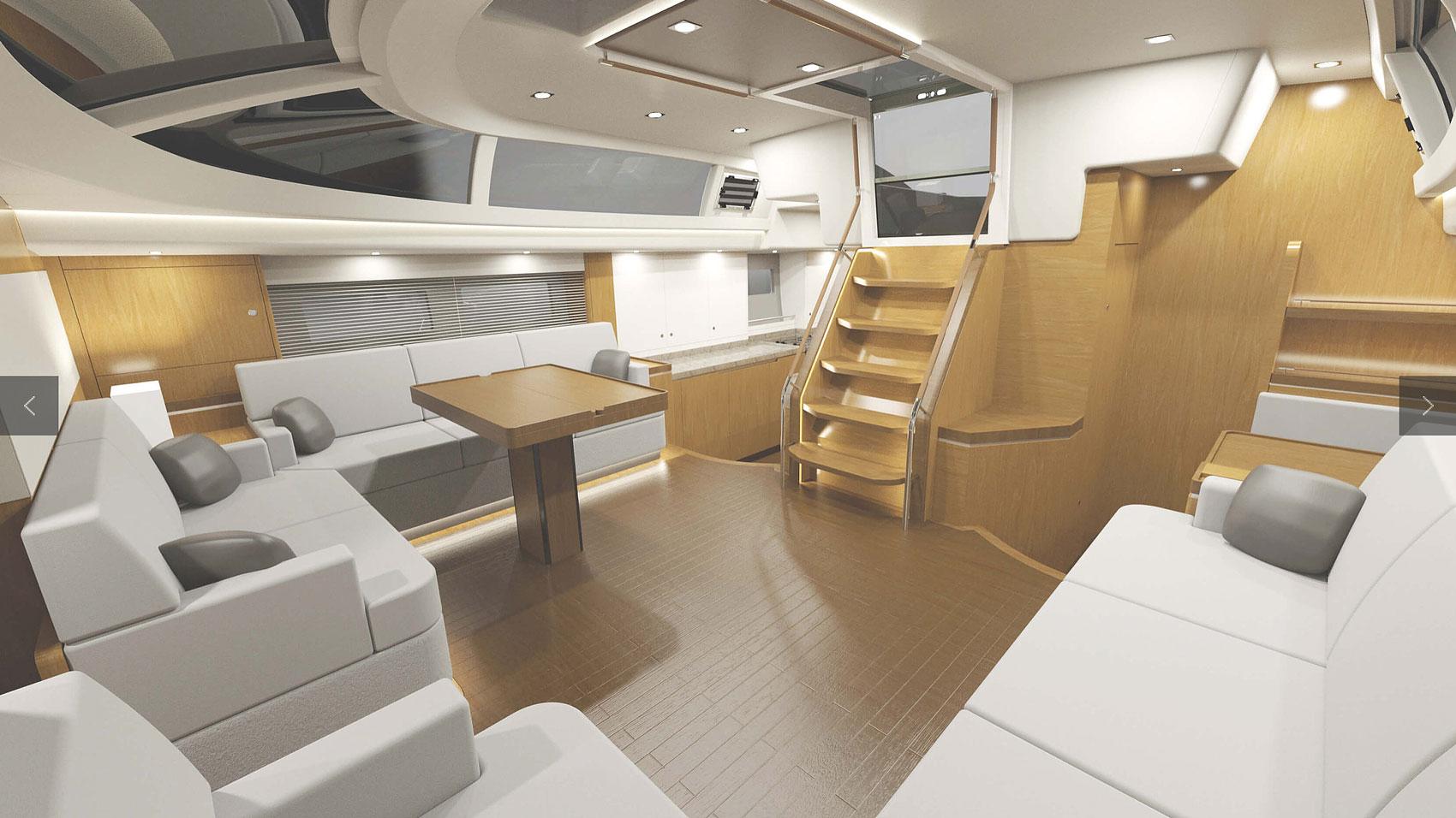 Hylas Yachts H57 Interior