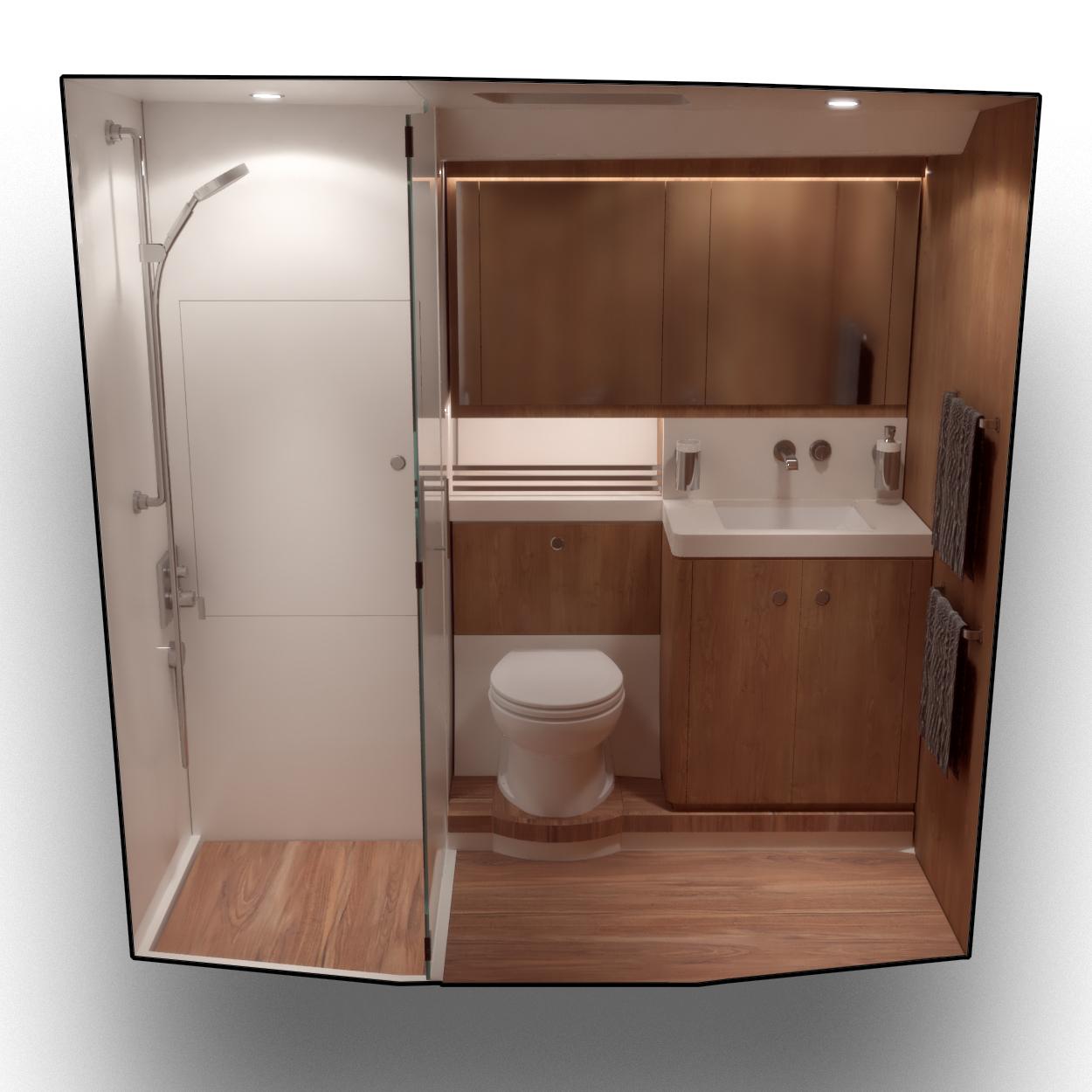 Fwd Cabin washer dryer 2 1