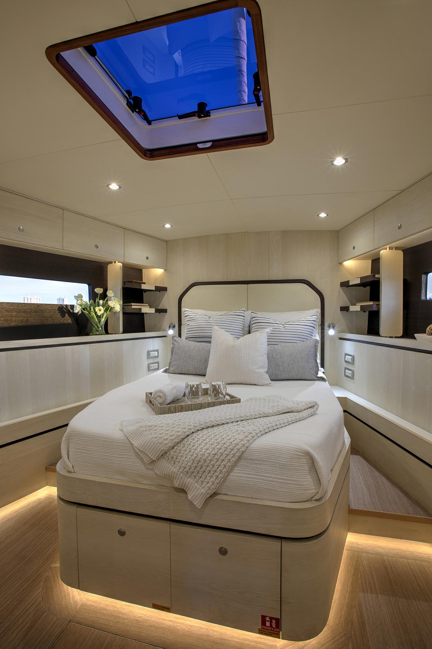 Hylas H60 Guest Cabin